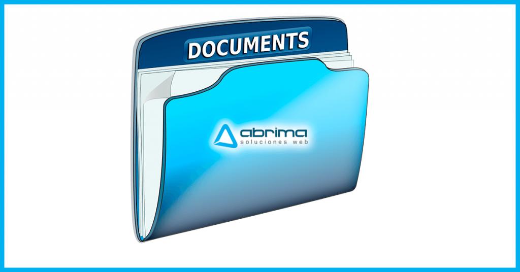 Carpeta con documentos