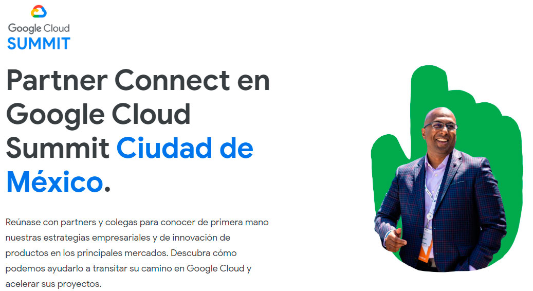 Abrima en el Partner Connect en Google Cloud Summit Ciudad de México 2019