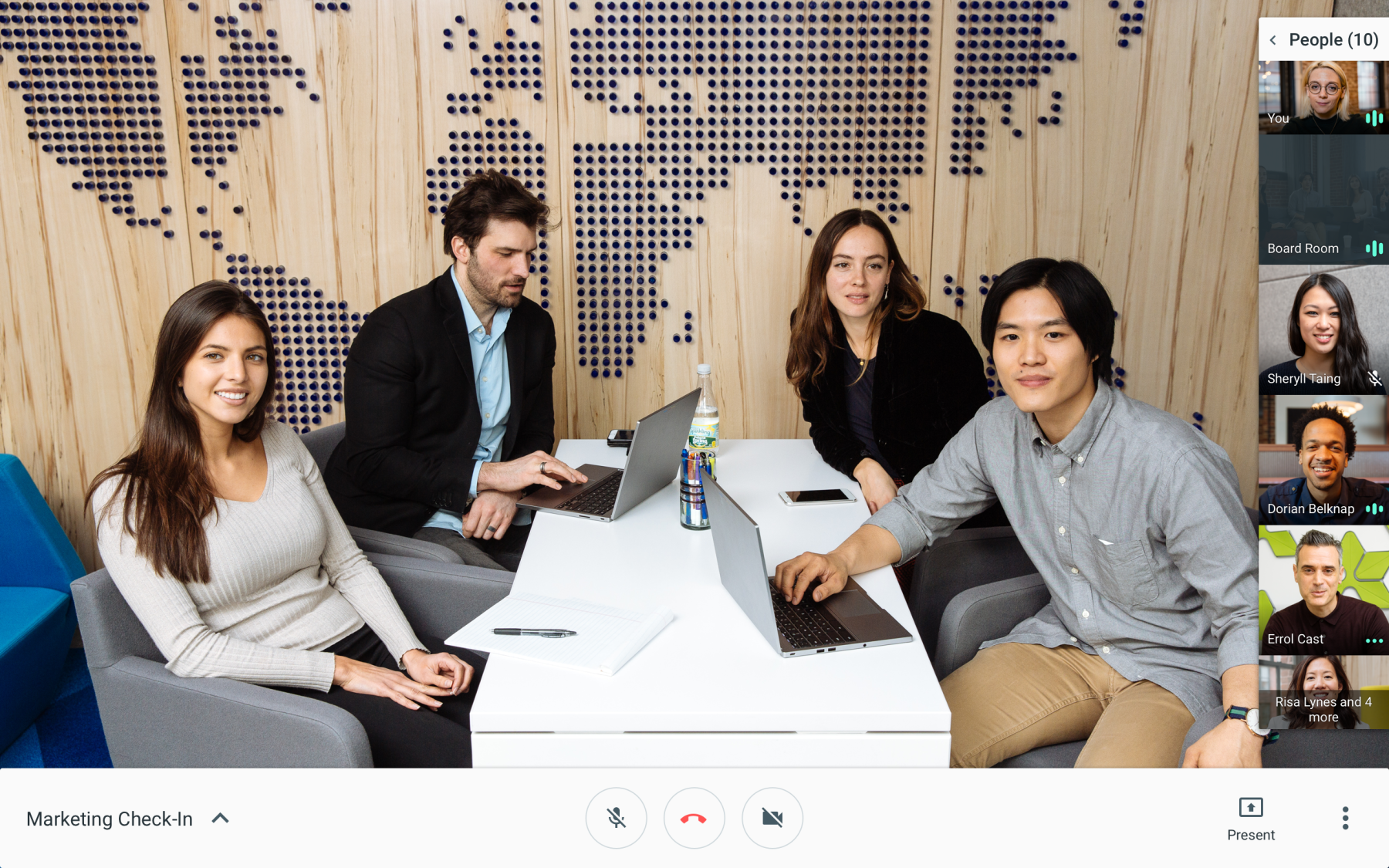 Google capitaliza el auge en videollamadas por COVID-19