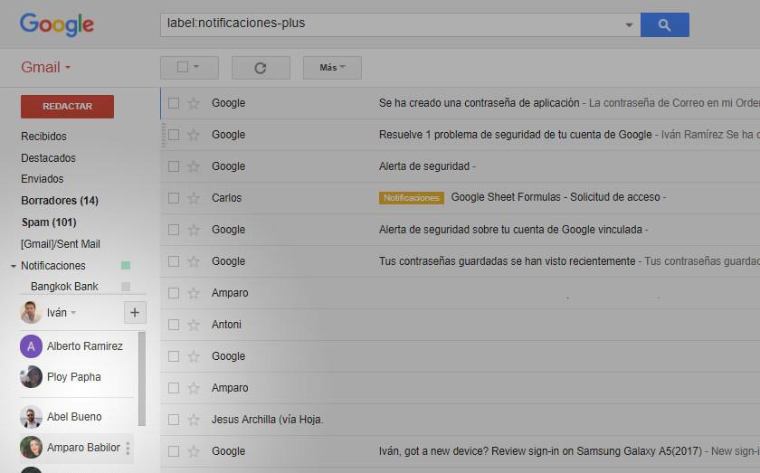 Cómo quitar la barra lateral de Hangouts de Gmail