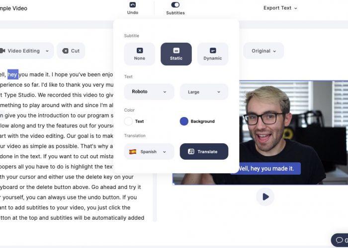 Para traducir tu vídeo en otros idiomas de forma automática y gratis
