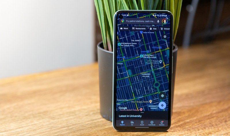 La nueva actualización de Workspace de Google coloca a Maps a un clic de distancia