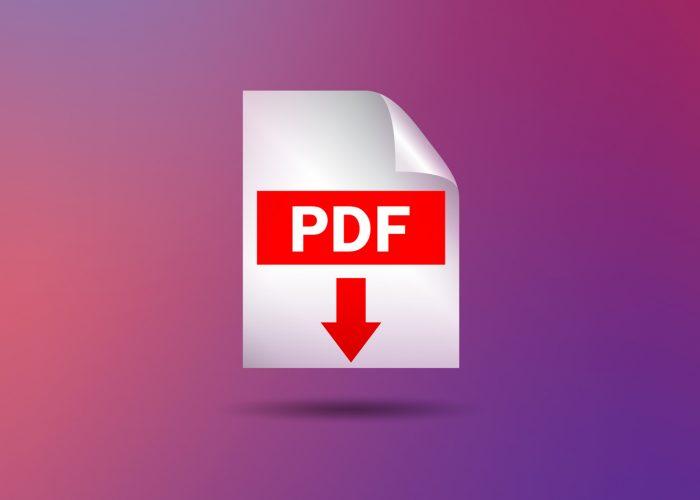 Cómo se trabaja y edita un PDF