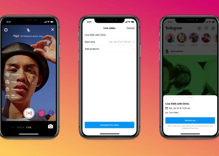 Cómo programar un directo en Instagram y promocionarlo con tu audiencia