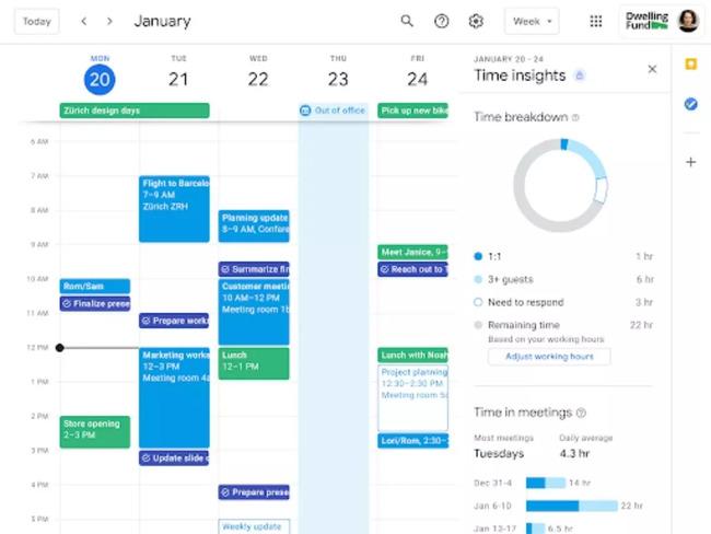 Cómo utilizar Google Calendar Time Insights para realizar un seguimiento de su productividad