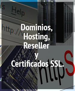 Dominios, Hosting, Reseller y Certificados SSL en el Peru