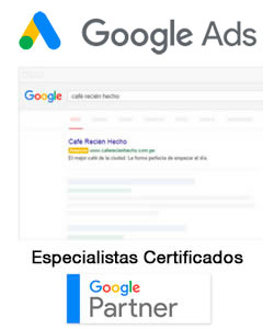 Google Ads Peru Especialistas Certificados Google Partner
