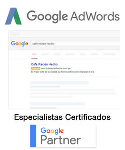 Google Adwords Peru Especialistas Certificados